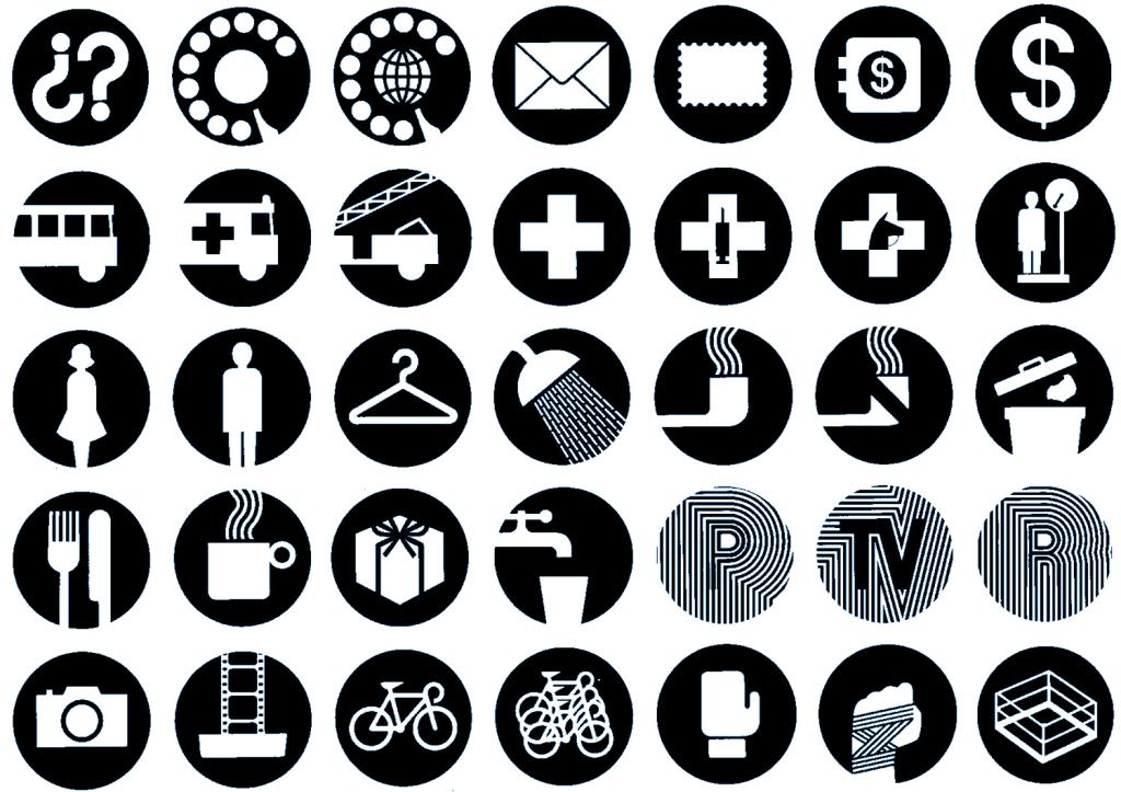 Mexico 68 Simbolos Direccionales