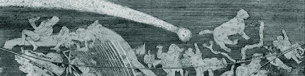 CUT 17 Cometa de 1680 por Matthaus Merian en 1696