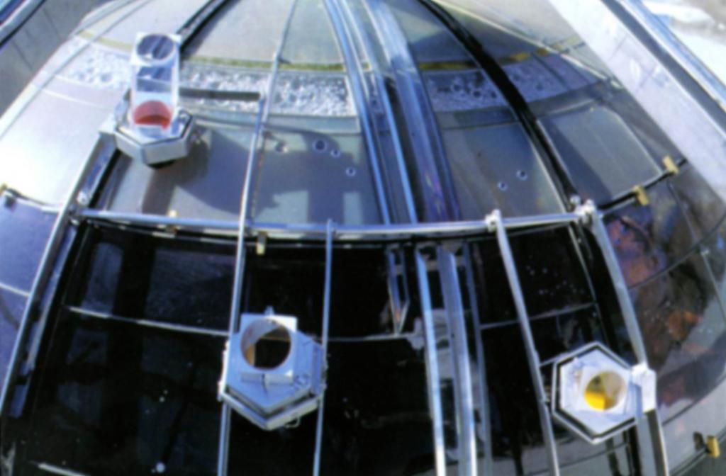 SMdA - lentes sobre el domo
