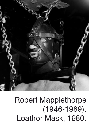 Splen Mapplethorpe Leather Mask
