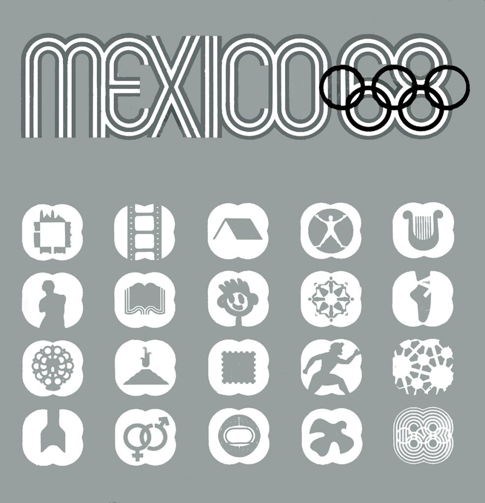 Mexico 68  Simbolos Culturales.Cover