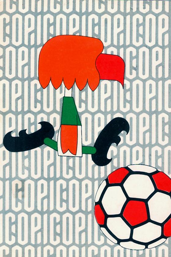 Pico, la mascota para la Copa del Mundo Jules Rimet