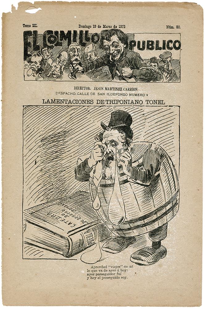 El Colmillo Público, 19 de marzo de 1903.