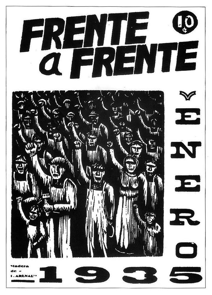 Frente a Frente, enero de 1935. i. Arenas