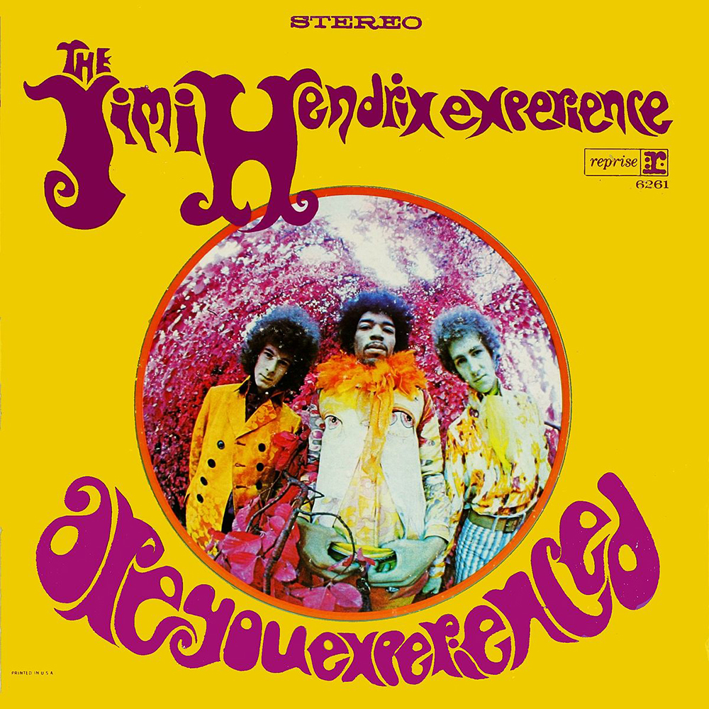 Are you experienced de The Jimi Hendrix Experience (foto de Karl Ferris)