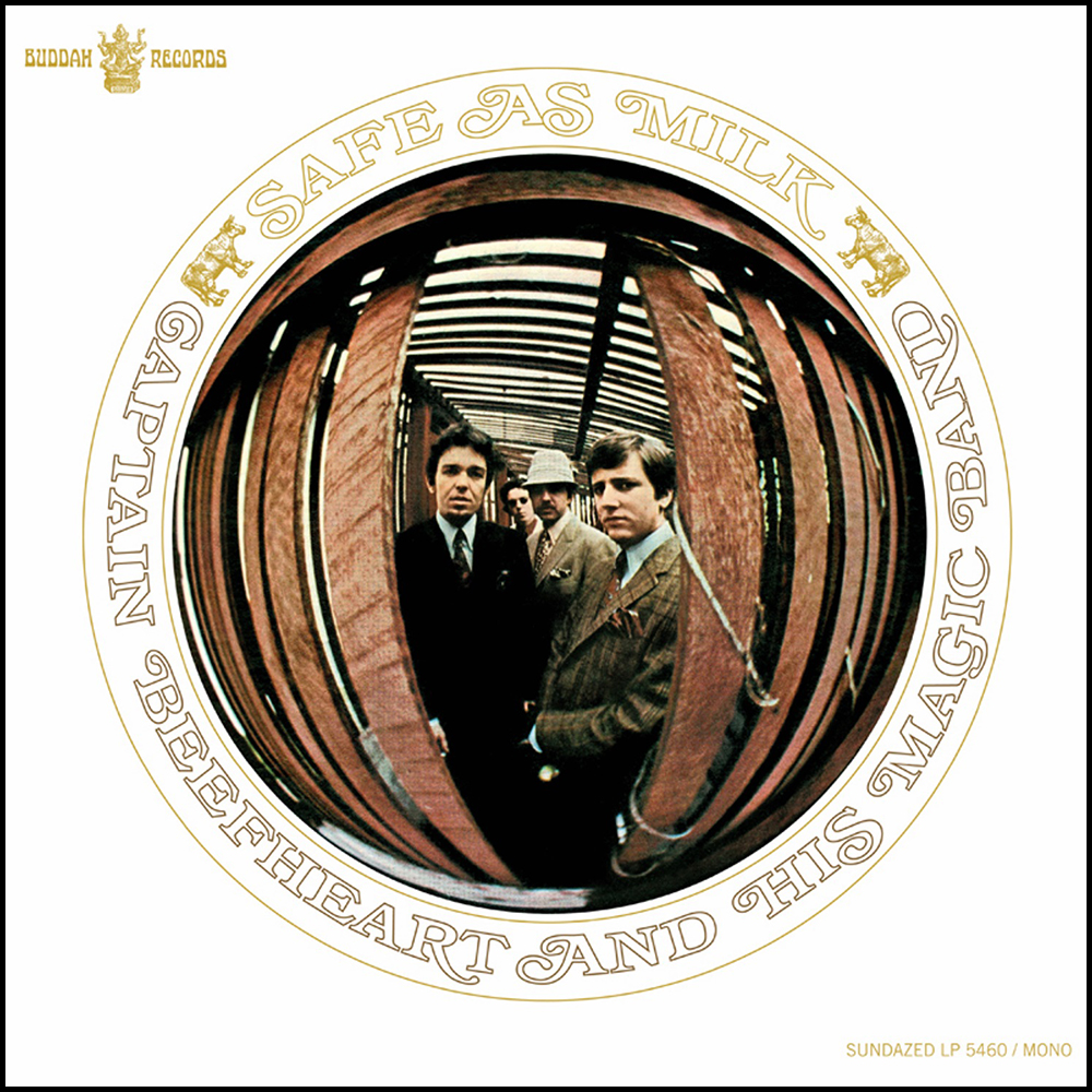 Safe as milk de Captain Beefheart and his Magic Band (diseño de Tom Wilkes).