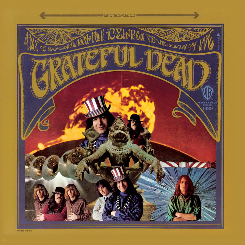 Grateful Dead de Greatful Dead (Collage de Kelly).