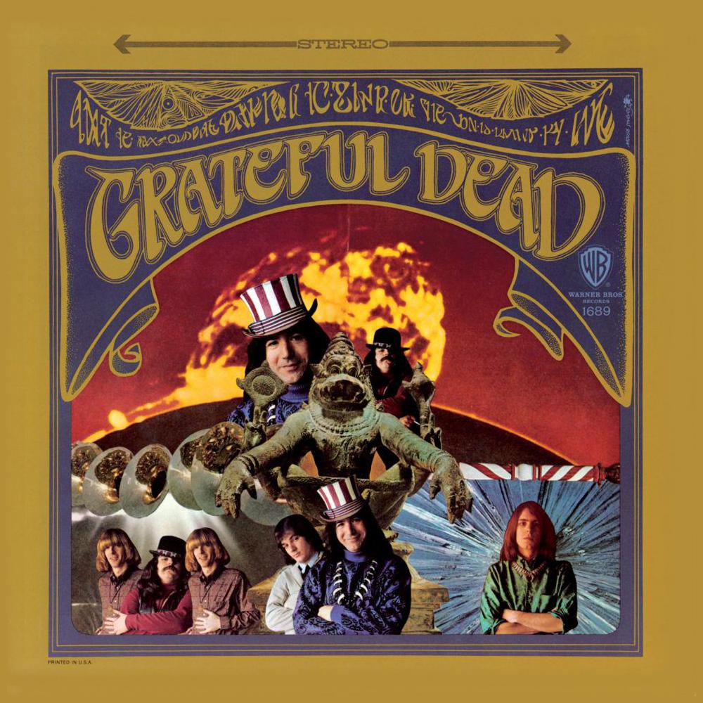 Grateful Dead de Greatful Dead (Collage de Kelly).