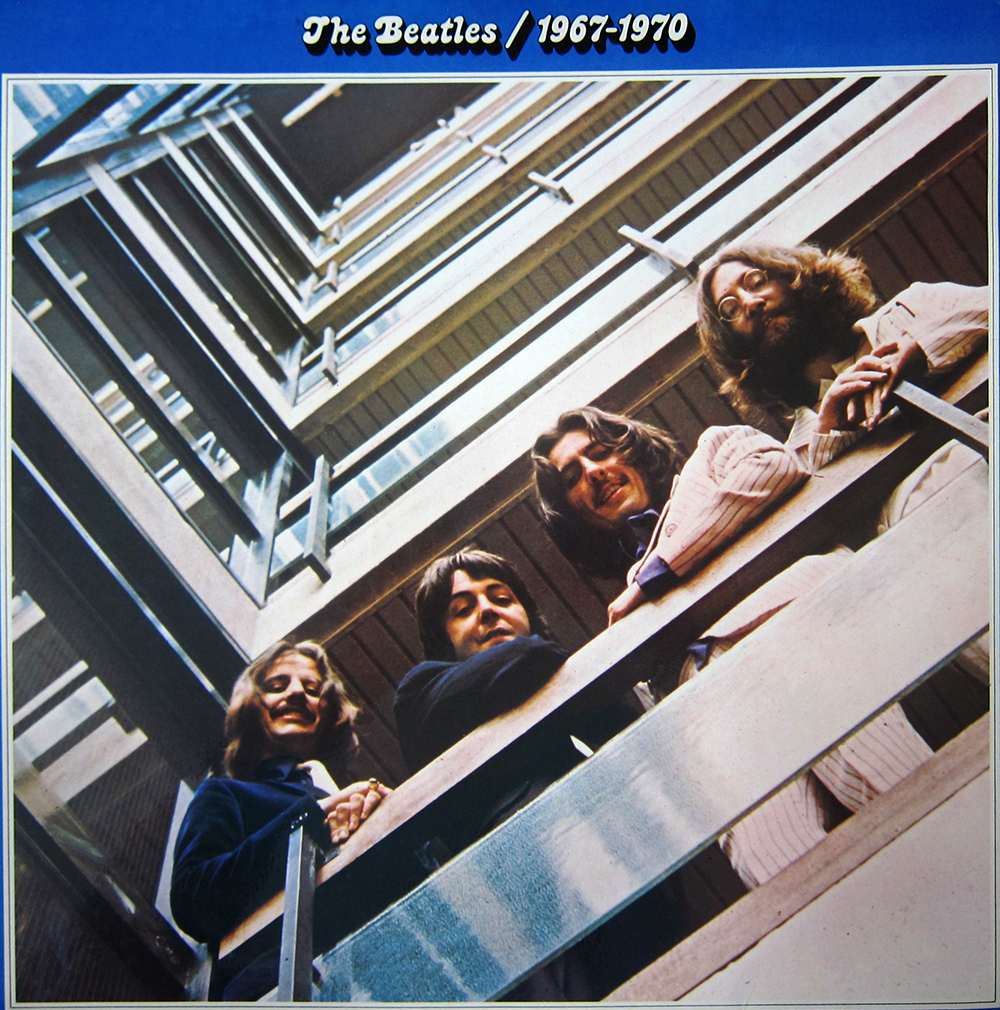 "The Beatles/1967-1970 (También conocido como ""The Blue Album"")"