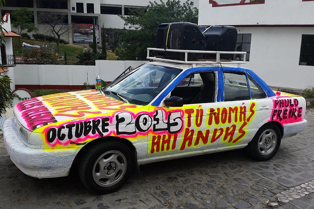 """""""Tú Nomás Ahí Andas"""" , realizado octubre de 2015 en Taxco de Alarcón, Guerrero, México."""