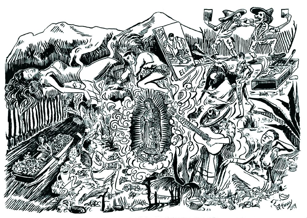 Reflexiones en torno a la imaginería mexicana. Jorge Fanuvy Núñez Aguilera. 2019