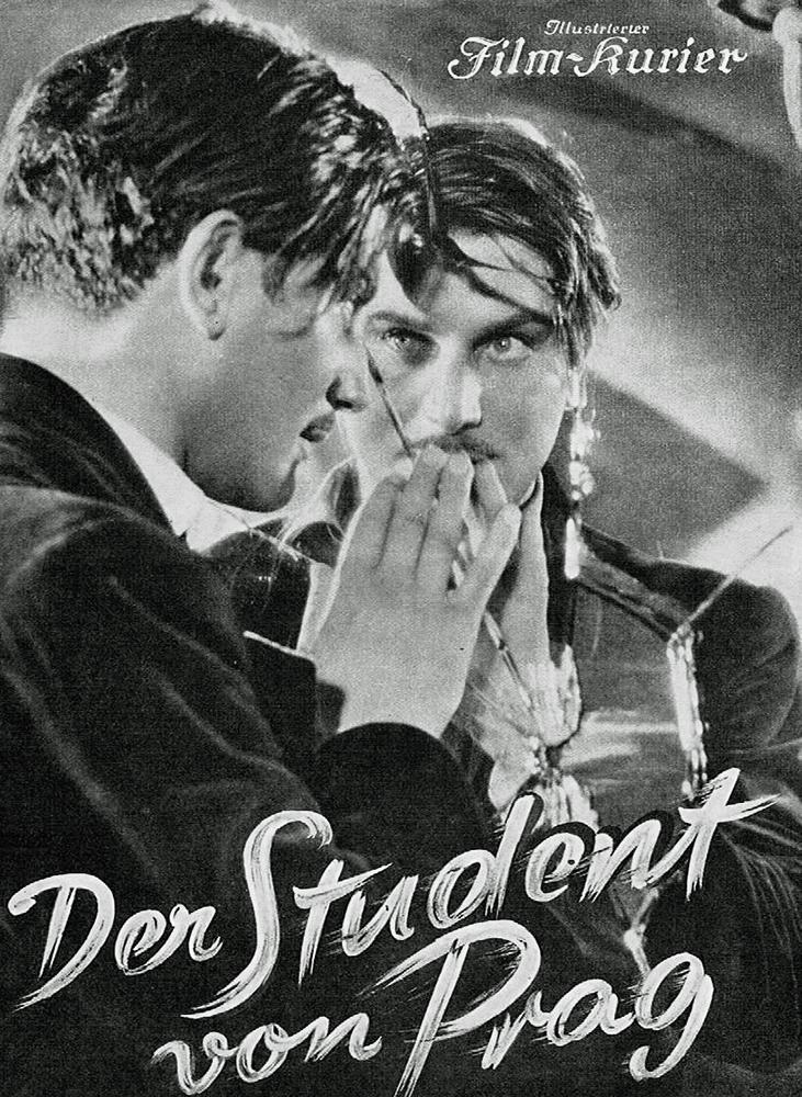 Der Student von Prag. Dir. Paul Wegener y Stellan Rye. Imperio Alemán. 1913.