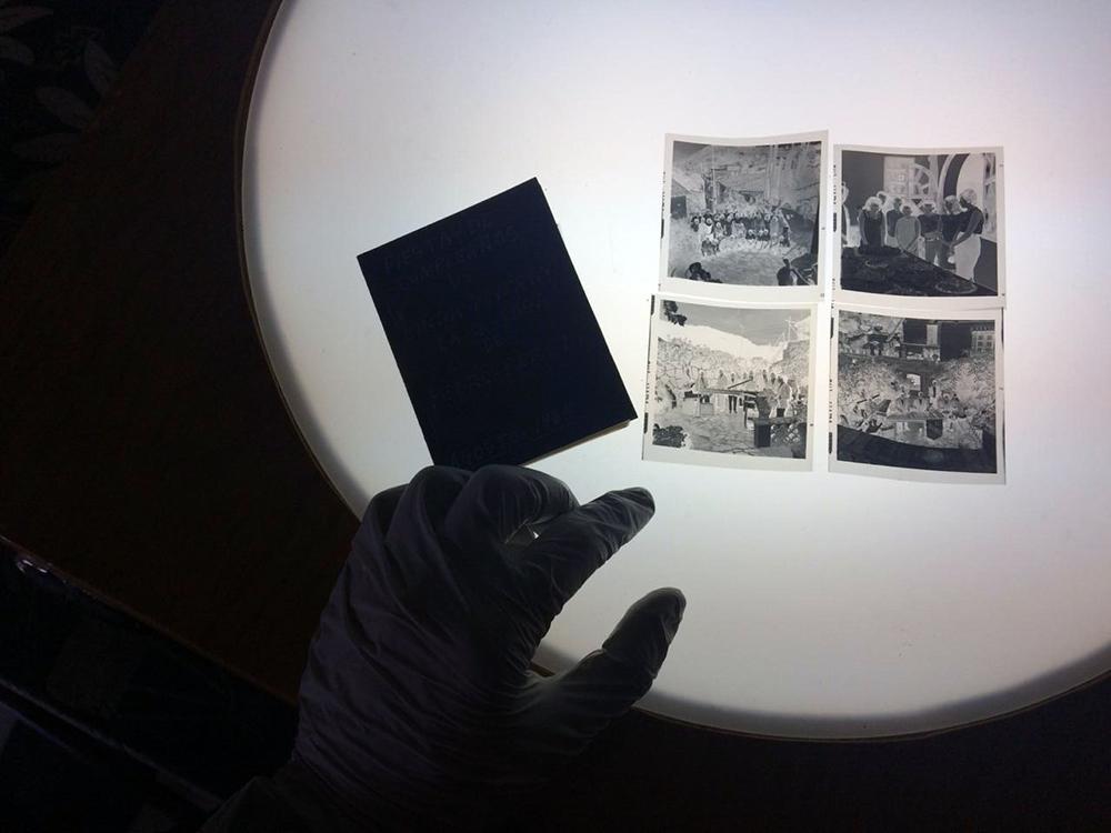 Negativos 6x6, fiesta de cumpleaños de Linda Porbverny, casa del Señor Pedro Pérez, agosto 19, 1965. Autor: Juan Crisóstomo Estrada.
