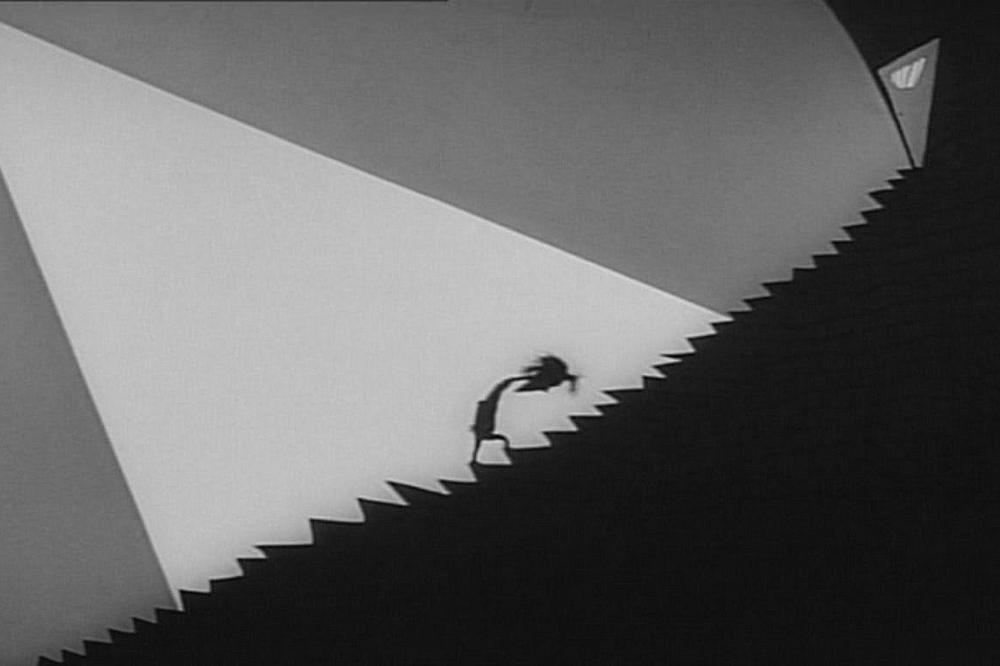 Escena del film Vincent de Tim Burton, 1982.