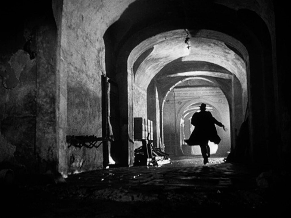 Escena del film The Third Man de Carol Reed, 1949.