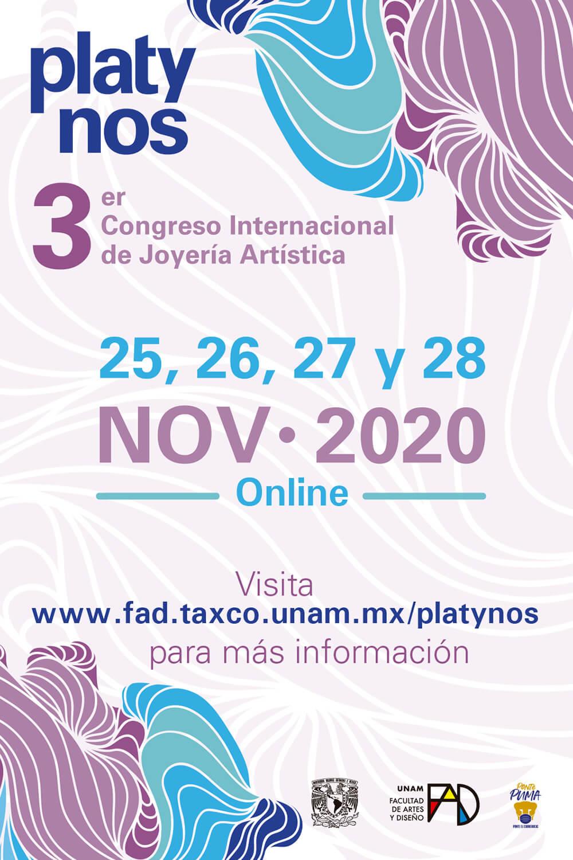 Cartel de la edición 2020 del Congreso Platynos.