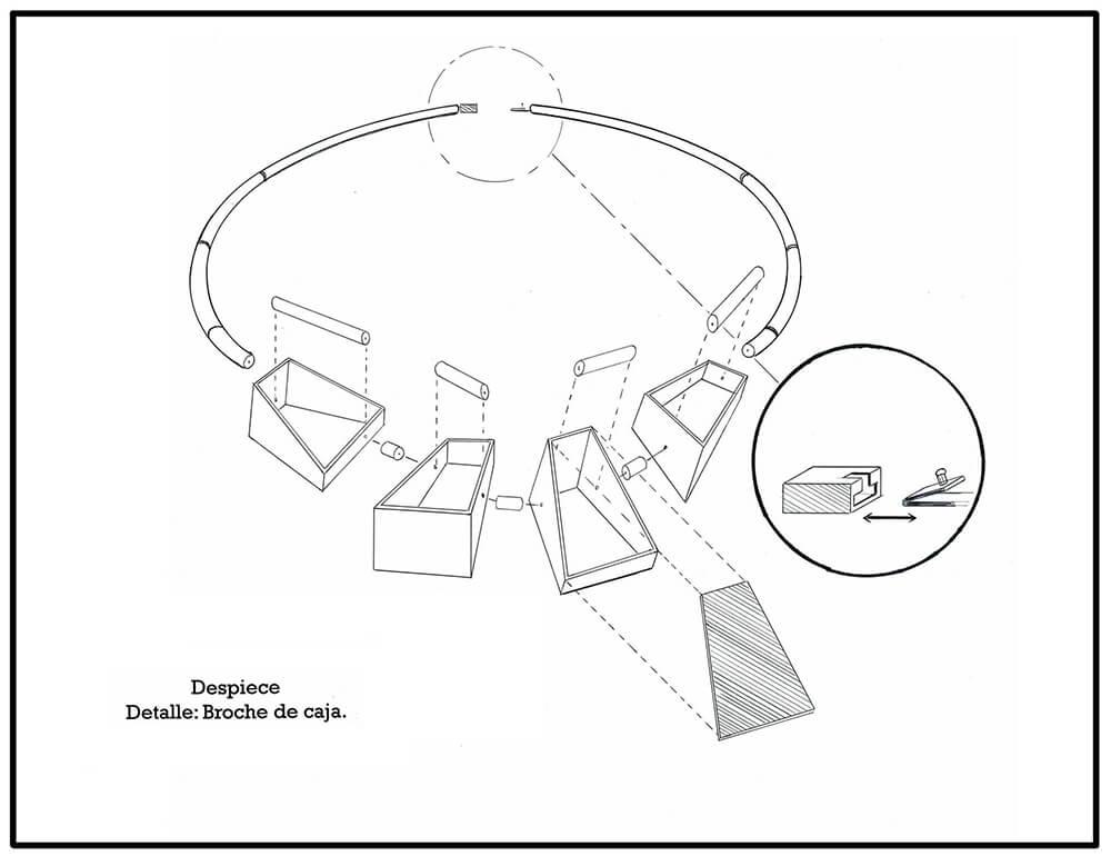 Diagrama de despiece.